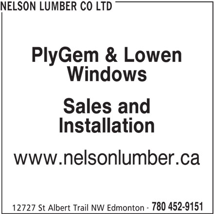 Ads Nelson Lumber Co Ltd