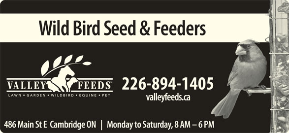 Valley Feeds (Div of Grand Valley Fortifiers) (519-621-5204) - Annonce illustrée======= -