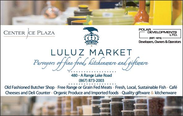 Luluz Market (867-873-2003) - Annonce illustrée======= -