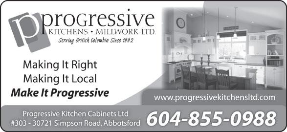 Progressive kitchen cabinets ltd opening hours 303 for California kitchen cabinets abbotsford