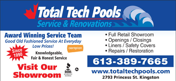 Ads Total Tech Pools Service & Renovations
