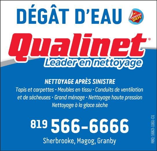 Groupe Qualinet (819-566-6666) - Annonce illustrée======= -