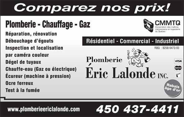 plomberie eric lalonde 20 rue milien marcoux blainville qc. Black Bedroom Furniture Sets. Home Design Ideas