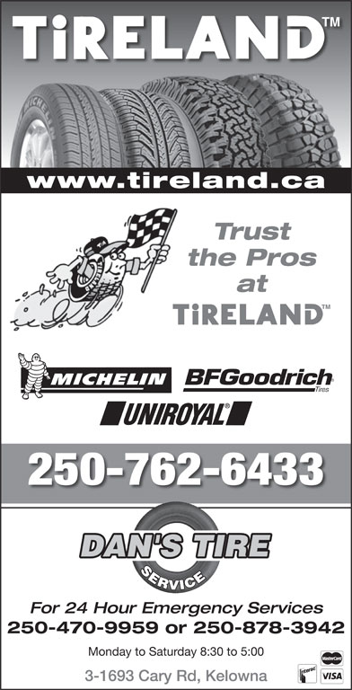 Ads Dan's Tire Service
