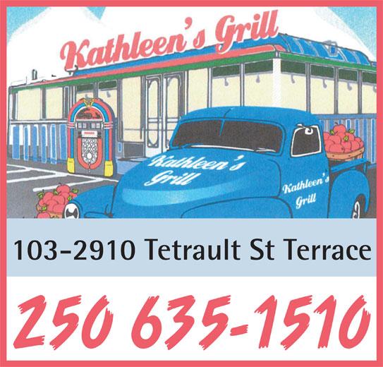 Kathleen 39 s grill terrace bc 103 2910 tetrault st for 103 merion terrace moraga ca