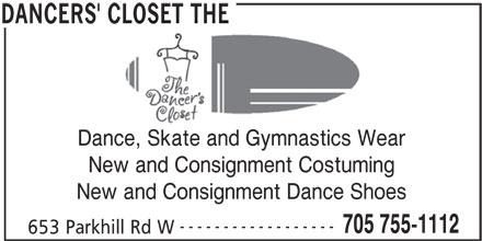 Ads Dancer's Closet, The