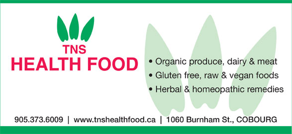 Tns Health Food Cobourg