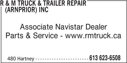 Ads R&M Truck & Trailer Repair (Arnprior) Inc