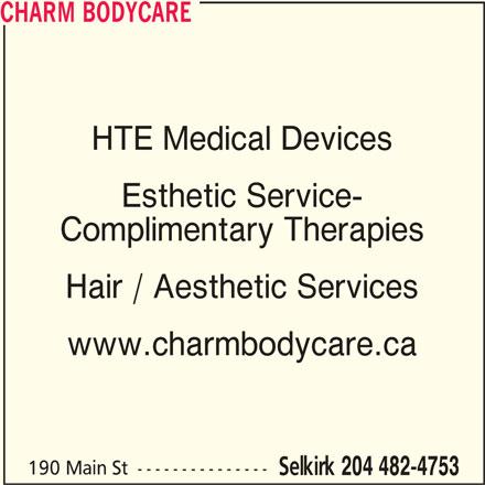 Charm Bodycare (204-482-4753) - Display Ad -