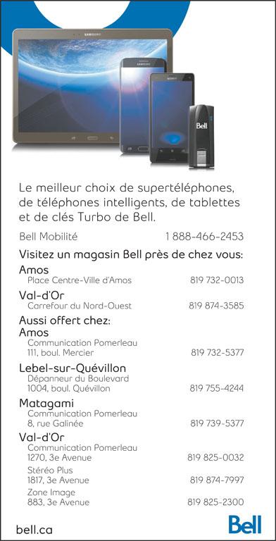Bell (1-888-466-2453) - Annonce illustrée======= -