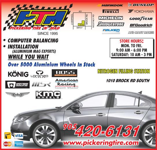 Pickering Tire 'N Mag (905-420-6131) - Display Ad -