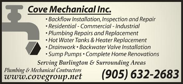 Ads Cove Mechanical Inc