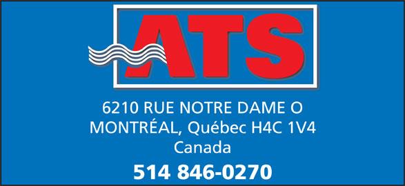 Conteneurs ATS (514-846-0270) - Annonce illustrée======= - 6210 RUE NOTRE DAME O MONTRÉAL, Québec H4C 1V4 Canada 514 846-0270