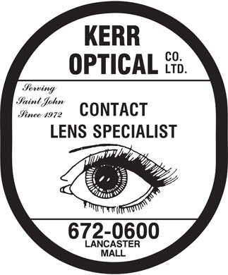 Kerr Optical Co Ltd (506-672-0600) - Display Ad