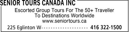 Senior Tours Canada Inc (416-322-1500) - Annonce illustrée - Escorted Group Tours For The 50+ Traveller To Destinations Worldwide www.seniortours.ca  Escorted Group Tours For The 50+ Traveller To Destinations Worldwide www.seniortours.ca  Escorted Group Tours For The 50+ Traveller To Destinations Worldwide www.seniortours.ca  Escorted Group Tours For The 50+ Traveller To Destinations Worldwide www.seniortours.ca  Escorted Group Tours For The 50+ Traveller To Destinations Worldwide www.seniortours.ca  Escorted Group Tours For The 50+ Traveller To Destinations Worldwide www.seniortours.ca