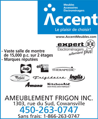 Accent meubles 1303 rue du sud cowansville qc for Meuble accent cowansville