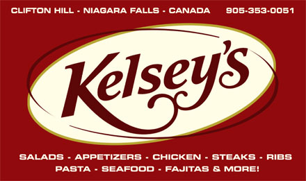 Kelsey's Restaurant (905-353-0051) - Annonce illustr&eacute;e