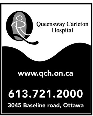 Queensway Carleton Hospital (613-721-2000) - Display Ad - Queensway Carleton Hospital www.qch.on.ca 613 721-2000 3045 Baseline road, Ottawa Queensway Carleton Hospital www.qch.on.ca 613 721-2000 3045 Baseline road, Ottawa Queensway Carleton Hospital www.qch.on.ca 613 721-2000 3045 Baseline road, Ottawa