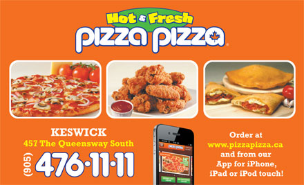 Pizza Pizza (905-476-1111) - Display Ad