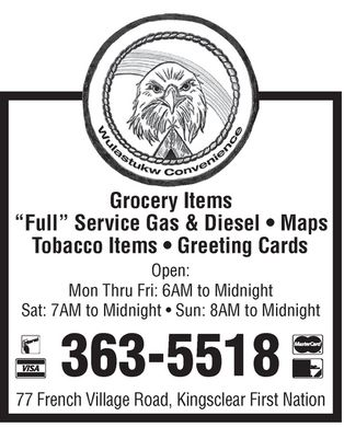 Wulastukw Convenience (506-363-5518) - Display Ad