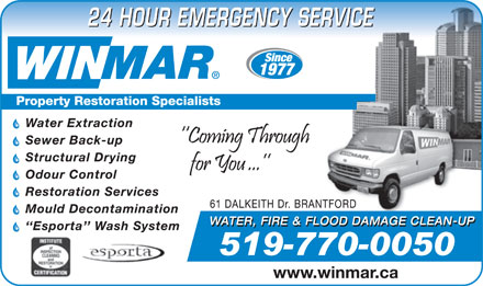 Winmar (519-770-0050) - Display Ad