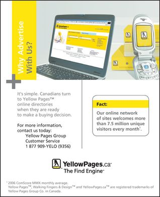 YellowPages.ca (1-877-909-9356) - Annonce illustr&eacute;e