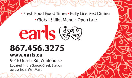 Earls (867-456-3275) - Display Ad