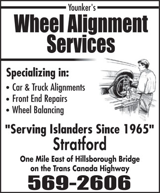Wheel Alignment Service (902-569-2606) - Annonce illustr&eacute;e