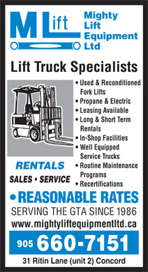 Short Term Rent Support Program Ontario http://www.yellowpages.ca/bus/Ontario/Mighty-Lift-Equipment-Ltd/3526144.html