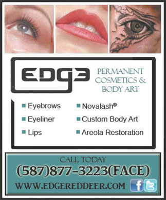 Edge Micropigmentation Inc (587-877-3223) - Display Ad