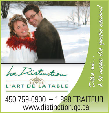 Distinction (La) (450-759-6900) - Annonce illustr&eacute;e