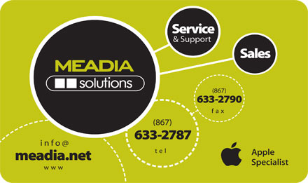 MEADIAsolutions (867-633-2787) - Display Ad