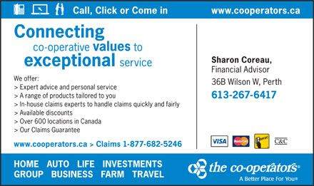 The Co-operators (613-267-6417) - Display Ad