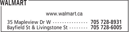 Walmart (705-728-8931) - Display Ad - www.walmart.ca