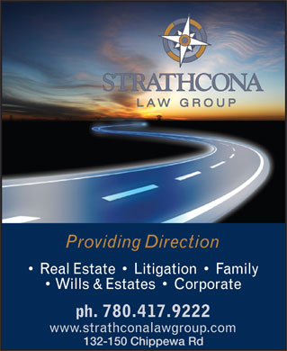 Strathcona Law Group (780-417-9222) - Annonce illustrée - 132-150 Chippewa Rd