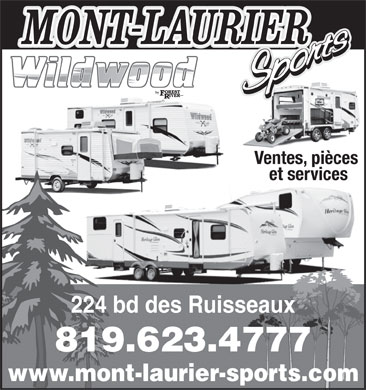 Mont-Laurier Sports Inc (819-623-4777) - Display Ad