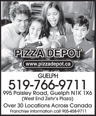 Pizza Depot (519-766-9711) - Display Ad
