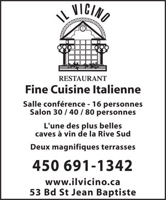 Restaurant St Valentin Rive Sud