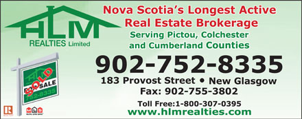 HLM Realties Limited (1-866-306-1364) - Display Ad