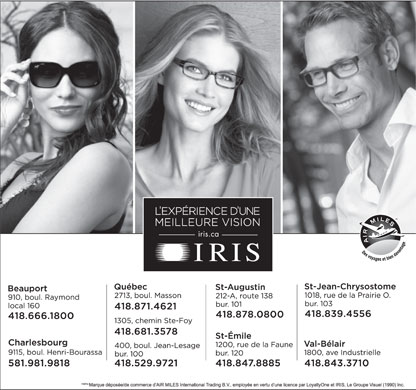 Iris (418-529-9721) - Display Ad