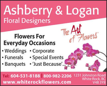 Ashberry & Logan (604-531-8188) - Display Ad