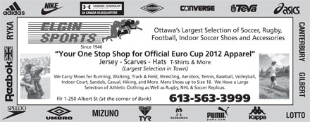 Elgin Sports (613-563-3999) - Display Ad