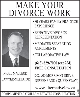 Macleod Nigel (613-829-7000) - Display Ad