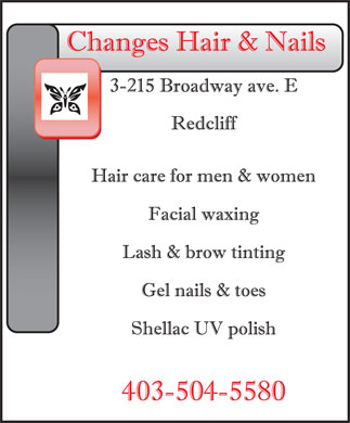 Changes Hair & Nails (403-548-9084) - Annonce illustrée