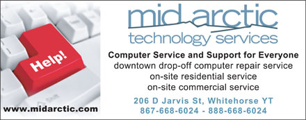 Mid Arctic Technology Services (867-668-6024) - Display Ad