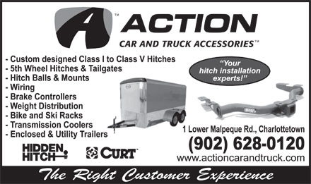 Action Car and Truck Accessories (902-628-0120) - Display Ad