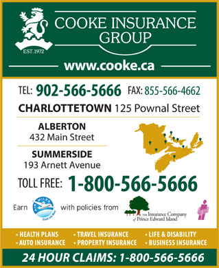 Cooke Insurance Group - Display Ad