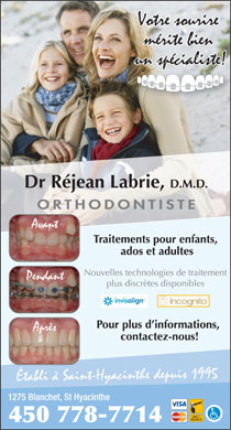 Labrie Réjean Dr (450-778-7714) - Display Ad