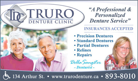 Truro Denture Clinic (902-893-8010) - Display Ad
