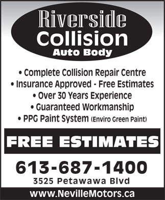 Auto Body Repair Estimate
